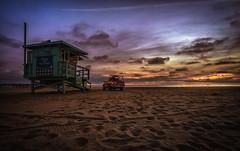 Life Guards (mcalma68) Tags: santa monica beach sunset lifeguard california