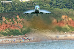 ZK349  Eurofighter Typhoon FGR4 (Nigel Blake, 17 MILLION views! Many thanks!) Tags: by britain anniversary battle airshow eurofighter jonny scheme 75th displayed typhoon dawlish dowen fgr4 nigelblake nigelblakephotography zk349