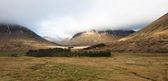 Scottish Valleys (Xuberant Noodle) Tags: uk cloud scotland valley