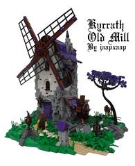 Kyrrath Old Mill (jaapxaap) Tags: mill purple lego medieval fantasy legoworld jaapxaap kyrrath