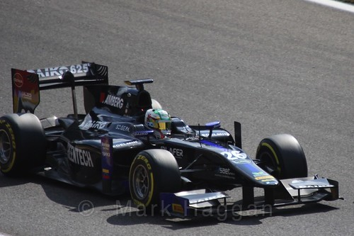 Nathanaël Berthon in GP2 Qualifying at the 2015 Belgium Grand Prix