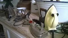 I - Iron (ChristineGibbs, trying to keep up!) Tags: england stilllife nokia iron phone nt az housework domestic smartphone nationaltrust warwickshire countryhouse uptonhouse i azproject nokia625