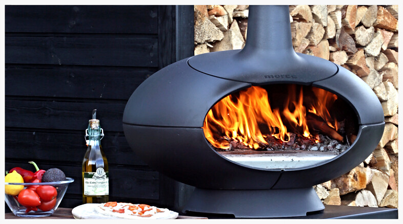 Morso Forto Outdoor Fireplace / Oven