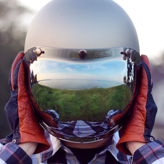 grassy helmet