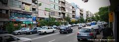 North Kargar Street Tehran Iran ( ) (Armin Hage) Tags: panorama iran panoramic tehran amirabad  arminhage northkargarstreet