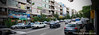 North Kargar Street Tehran Iran (امیر آباد) (Armin Hage) Tags: panorama iran panoramic tehran amirabad امیرآباد arminhage northkargarstreet