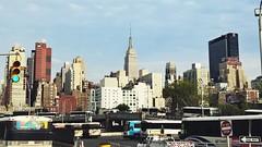 My place is there! New York (giussaniluca) Tags: street city travel usa newyork america empirestatebuilding avventure
