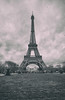 What's Paris without a shot of La Dame de Fer (Dan Haug) Tags: winter blackandwhite paris france tower cloudy january eiffel champdemars fujifilm gustave 2015 vintagelook xt1 theironlady ladamedefer xf1024mmf4rois