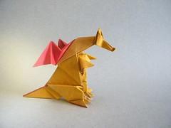 Dragon - Hideo Komatsu (Rui.Roda) Tags: origami dragon papiroflexia komatsu hideo drago papierfalten