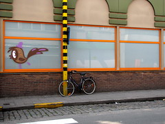 street art Ghent bicycle safari august 2015 - Bué the Warrior (_Kriebel_) Tags: street urban art grafitti belgium belgique belgica ghent gent gand urbain kriebel belgiën uploadedviaflickrqcom