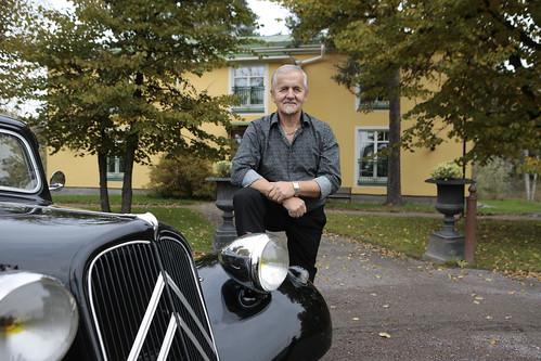 Hirvihaaran Kartanon pehtori Ensio Stenman