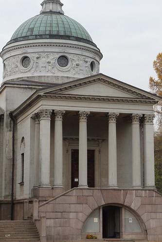 Архангельское-2015 - Храм-усыпальница «Колоннада»