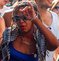 Cross my heart. Hope to die. Stick a needle in my eye (ybiberman) Tags: party portrait girl dreadlocks israel necklace dancing candid jerusalem streetphotography piercing techno lipstick eyeglasses bliss keffiyeh cityrave2 shivaxvsagneton spaghettitanktop