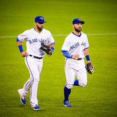 #Cometogther @BlueJays: @JoeyBats19 and Pillar Running Off the Field (b.m.a.n.) Tags: toronto nikon kevin baseball jose pillar champs center east american bluejays rogers league bautista mlb torontobluejays 2015 rogerscenter d610 americanleagueeast josebautista kevinpillar joeybats nikond610 2015torontobluejays americanleagueeastchamps