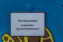 VIKING HOLIDAY BY HUGH MADDEN [DUBLIN CANVAS]-110307 (infomatique) Tags: streetart sony streetphotography streetartist vikings williammurphy infomatique hughmadden zozimuz a7rm2 ilcea7rm2 fotonique dublincanvas vikingholiday urbancluture