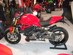 Biker-s-World 2015 (John Steam) Tags: monster motorbike motorcycle ducati abs motorrad 1200s 2015 bikersworld