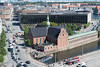 Kopenhagen - Holmens Kirke und Danmarks Nationalbank (CocoChantre) Tags: auto kirche dk bauwerk dänemark kopenhagen verkehr københavn pkw zentralbank danmarksnationalbank holmenskirke regionhovedstaden strasenverkehr