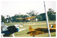 Bleriot G-AANG Shuttleworth Collection, Shuttleworth Pageant 2002 (Richard.Crockett 64) Tags: 2002 bedfordshire airshow bleriot xi shuttleworthcollection monoplane oldwarden gaang louisbleriot shuttleworthpageant