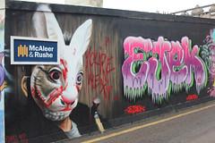 Street photography. (boneytongue) Tags: street portrait england people art public liverpool photography graffiti scotland candid crowds southport edinbiurgh
