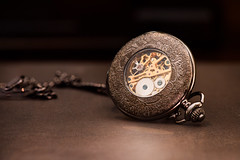 Stacking Time (Katherine Ridgley) Tags: detail macro watch gear pocketwatch steampunk