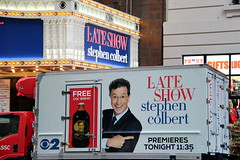 Rolling by (DC Products) Tags: newyorkcity newyork tv manhattan broadway midtown edsullivantheater 2015 filminglocations thelateshowwithstephencolbert