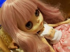 pink Blythe custom rosa