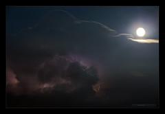 Temporale VII (Emilio Casini) Tags: cielo nuvola sky cloud nuvole clouds fulmini saette tempesta storm night notte luna moon light luce moonlight redmatrix