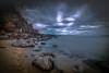 Strange Clouds (Explored 9-1-2017) (mcalma68) Tags: seascape longexposure clouds waterfront rocks beach travel thailand sunset summer