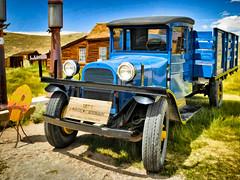 1927 Dodge Graham - Textured (byron bauer) Tags: byronbauer bodie ghosttown painterly topaz simplify california sierranevada monocounty nationalhistoriclandmark texture restored truck