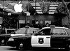 """Apple Store, Berkeley, Police, """"after two smash and grab robberies in past months"""", (David McSpadden) Tags: aftertwosmashandgrabrobberiesinpastmonths applestore berkeley police ca usa"""