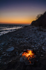DSC_2963 (milenstoyanov) Tags: fire sea sunset blacksea photo photography nikon nikond7100 bulgaria