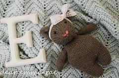 b r a m b l e s (dear emma rae) Tags: baby brambles bramblesbear babybear babytoy babygift doll toy amigurumi bear softie handmade handmadebaby babydiy diybaby sewing knitting knits emmarae firstbirthday birthdaygift