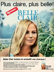 Belle Clair Hair Color (jerkingchicken) Tags: frenchad mariefrance vintagehaircareproduct hairdye