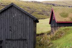 Faroe Islands (michael_hamburg69) Tags: färöer tanndeiligahavn tinganes färöerinseln faroeislands kollafjørður house houses gründach grasdach greenroof grassroof