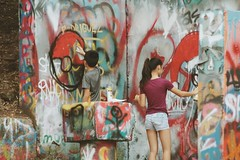 2016-12-24 02.40.55 3 (Jayme Rose Photography) Tags: austin texas graffiti wall graffitiwall spray paint spraypaint streetphotography street photoraphy canonm3 vsco vscocam portrait art artists atx keepaustinweird colorful nature outdoors instax