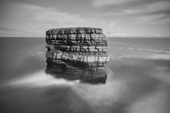 Dun Briste (razor73) Tags: mayo dun briste downpatrick head canon 80d sigmawideangle1020mm lee filters big stopper 9 graduated filtre ireland west coast atlantic ocean sea stack bw long exposure