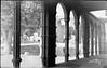 Atrio y puerta de San Vicente. Antiguo Museo Provincial. (José Luis Pajares) Tags: antoniopassaporte loty fotoantigua photoantique old vintage avila spain españa patrimonio heritage photohistory castilla