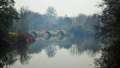 Bradford-On-Avon (brightondj - getting the most from a cheap compact) Tags: bradfordonavon wiltshire riveravon river avon refelction bridge