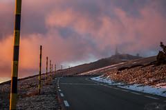 ventoux2017 (tristan.m84) Tags: ventoux provence hiver ciel nuage neige montagne tour france paysage soir coucher soleil rose rouge nature