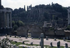 1982 04 03 Lazio - Roma - Fori Imperiali_018 (william.ferrari1956) Tags: foriimperiali lazio roma