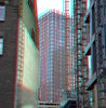Red Apple Rotterdam 3D (wim hoppenbrouwers) Tags: redapple rotterdam 3d anaglyph stereo redcyan blaak wijnhaveneiland