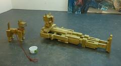 Beyond Parody (jcbear2) Tags: sculpture antonygormley parody dog fulsizedfigure lumber pressuretreated antony gormley figure