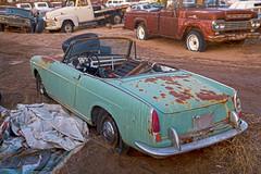 Awesome junkyard in Yucca Valley, CA (vetaturfumare - thanks for 2 MILLION views!!!) Tags: yuccavalley joshuatree junkyard skrotbil 廃車体 wreck rust schrott desert öken california