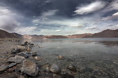 Pangong Lake (Benjamin Ramon) Tags: inde2015 pangong lake india nature travel altitude himalaya ladakh canon 70d landscape paysage lac