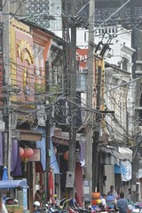 Wires..... (s.statham) Tags: thailand wires telephonewires
