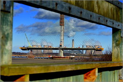 Mersey Gateway Project (Southern Pylon) 4th February 2017 (Cassini2008) Tags: merseygatewayproject wiggisland bridgeconstruction cablestayedroadbridge
