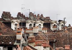 Tripudio di camini (micheloverier) Tags: chimneys soffitta torino turin other face dallalto attic camini love tetto roof roofs home up alto cielo sky top