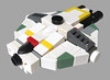 Ghost (tbone_tbl) Tags: lego ghost star wars rebels freighter foitsop mini miniscale micro microscale space spaceship microspacetopia