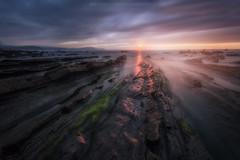 Barrika y su luz, siempre mágicas. (Mer SGarcía) Tags: canon playa beach sunset sunsets landscapes landscape canon1740l nisifilter badpter sherk luz light atardecer largaexposición paisaje fotografíadepaisaje paisajesdemar paisajes
