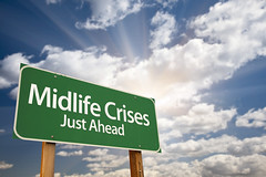 Is it Mid Life Crisis, or, is it just another Life Transistion? From 'A Life Coaching'. (batuldas) Tags: 40s 50s abstract age anxiety billboard change choice clouds concept conceptual crises crossroads depression direction doubt fifties forties green greenroadsign greensign guidepost idea life menopause message middle midlife midlifecrises motivational notice perspective post psychological road roadsign sign signpost sky stress way years